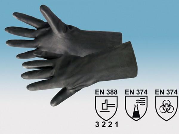 Neopren-Handschuh 01. Polychlorprene Industriehandschuh