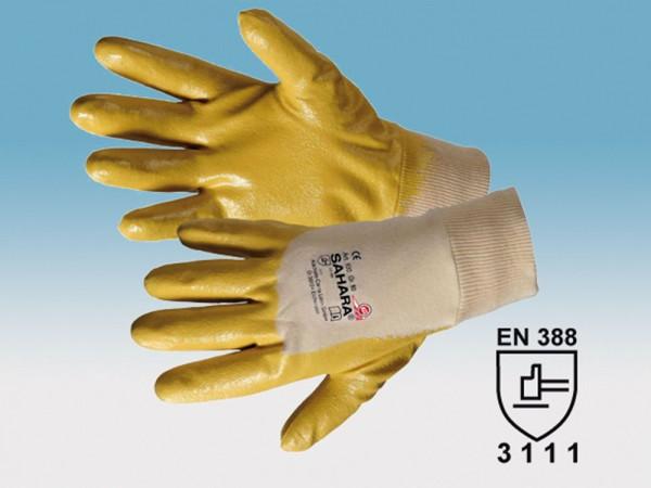 Nitrilkautschuk Handschuh, Modell SAHARA