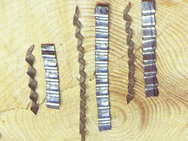 Welleneisen, verzinkt 15cm