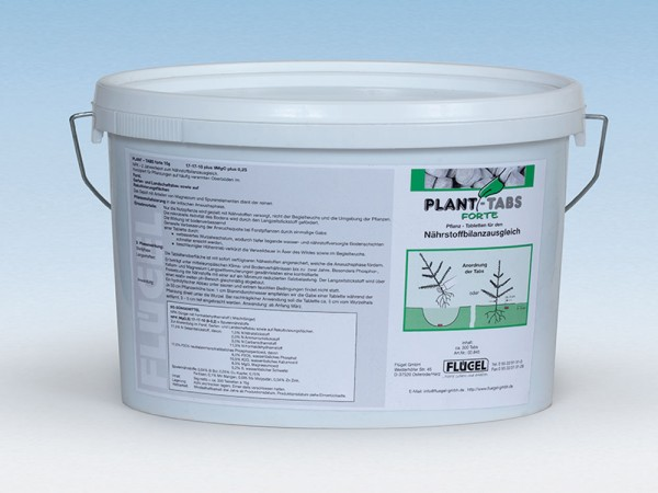 Plant Tabs Forte Eimer à 330 Stk. zu 15g