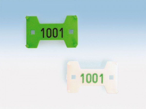 UNImatic® - Nummerierplättchen