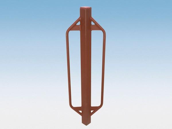 Metallramme für Z-Profil Pfosten