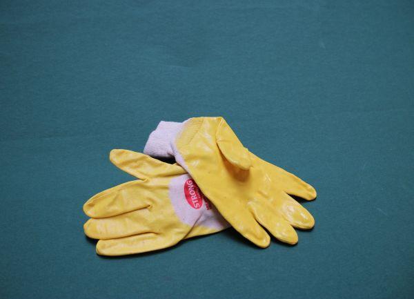 Nitril Handschuh Yellow Star G. 9